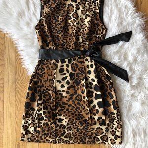 Nanette Lepore Leopard Mini With Pockets!